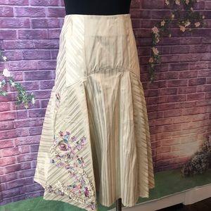 Diane Von Furstenberg Wellington Embellished Skirt